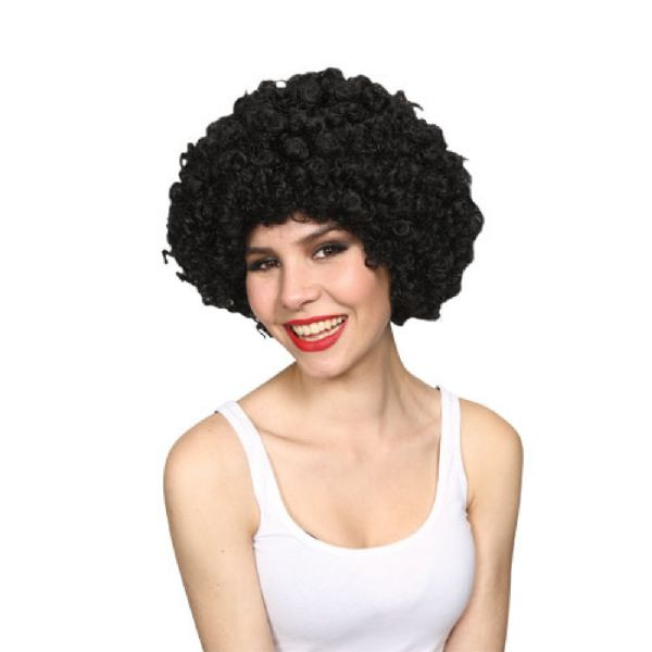 Adult Unisex Jumbo Deluxe Afro 160gm Wig Outfit Accessory for Fancy Dress